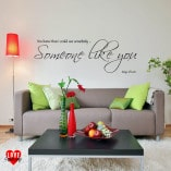 Use somebody Kings of Leon lyrics wall art wall sticker